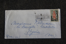 Lettre D'ALGER Vers HYERES . - Algérie (1962-...)