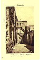 CPA N°21125 - LOT DE 2 CARTES DE JERUSALEM - ECCE HOMO - Palestina