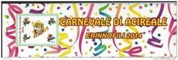 Acireale, Catania, Erinnofili, Carnevale 2014 - Vignetten (Erinnophilie)