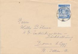 KARL-MARX-STADT - 1953 , VI. Internationale Radfernfahrt Für Den Frieden  -  Brief Nach Borna - Ciclismo