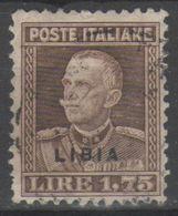 Libia 1928 - Effigie 1,75 L.        (g5203) - Libya