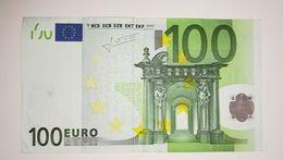 EURO- AUSTRIA 100 EURO (N) F002 Sign TRICHET - 100 Euro