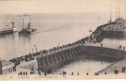 Cp , 76 , LE HAVRE , La Jetée Et L'Avant-Port - Port