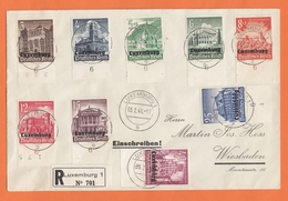 SAMMLERBELEG MIT NR 33/41,WINTERHILFSWERK. - 1940-1944 German Occupation