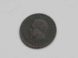 1 Centime 1856 B - Napoléon III Tête Nue  **** EN ACHAT IMMEDIAT **** - A. 1 Centesimo