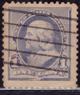 United States, 1890-93, Franklin, 1c, Sc#219, Used - 1847-99 Unionsausgaben