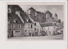 CPSM - LE BLANC - Place De La Palisse Et Le Chateau - Camion Ancien - Le Blanc