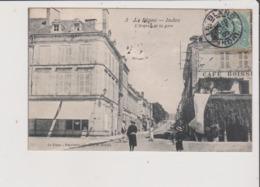CPA - LE BLANC - L'Avenue De La Gare - Le Blanc