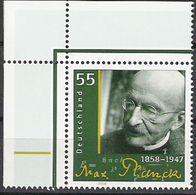 2008 Allem. Fed. Deutschland Mi. 2658 **MNH  EOL  150. Geburtstag Von Max Planck. - [7] Repubblica Federale