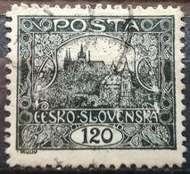 Czechoslovakia 1919 Hradcany At Prague Perforated - Cecoslovacchia