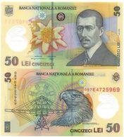 Romania - 50 Lei 2008 ( 2005 ) UNC Lemberg-Zp - Romania