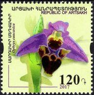 Armenia - Nagorno-Karabakh - 2017 - Flowers - Orchid - Mint Stamp - Armenia