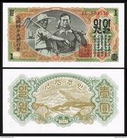 BANK OF KOREA 1 WON 1947 Pick 8b UNC - Corée Du Sud