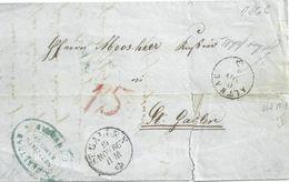 Faltbrief  Altnau - St.Gallen           1866 - ...-1845 Préphilatélie