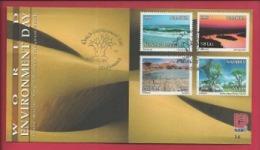 NAMIBIA, 1998, Mint FDC 3.6, World Environment, Stampnr(s). SACC 258-261, F3623 - Namibië (1990- ...)