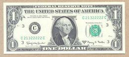 United States Fr#1901C  $1 1963 A  PHILADELPHIA  (C..22222C)  UNC - Billets De La Federal Reserve (1928-...)