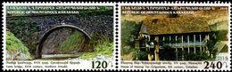 Armenia - Nagorno-Karabakh - 2016 - Historic Sights - Yants Bridge And House Of Mesrop - Mint Stamp Set - Armenia