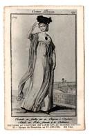 HISTOIRE DU COSTUME DE LOUIS XVI AU SECOND EMPIRE . DIRECTOIRE AN VI (1797/1798) - Réf. N°9273 - - Historia