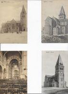 BERTRIX ..-- 4 Cartes Différentes De L' Eglise De BERTRIX . - Bertrix