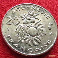 French Polynesia 20 Francs 1991 KM# 9  Polynesie Polinesia - Polynésie Française