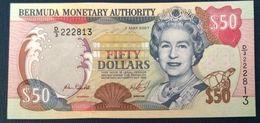 2007 BERMUDA 50 DOLLARS ( P 54b ) - UNC - - Bermudas