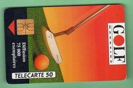 EN146a  GOLF MAGAZINE *** Laquee *** TTBE *** (A3-P5) - France