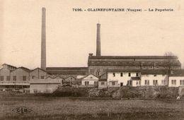 (63) CPA  Clairefontaine  La Papeterie (Bon Etat) - France