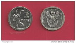 SOUTH AFRICA, 2013, Circulated Coin , 2 Rand, C1374 - South Africa