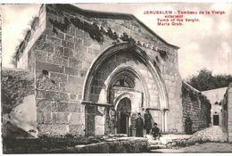 CPA N°21136 - LOT DE 5 CARTES DE JERUSALEM - TOMBEAU OU CHAPELLE DE LA VIERGE + VALLEE DE JOSAPHAT - Palestina