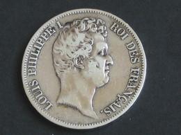5 Francs LOUIS PHILIPPE 1er 1831 W ( LILLE )  **** EN ACHAT IMMEDIAT  *** - France