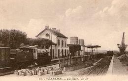 (63) CPA  Vezelise  La Gare (Bon Etat) - Vezelise