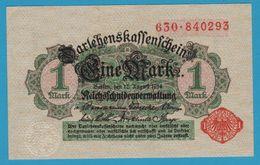 DEUTSCHES REICH 1 Mark 12.08.1914 Serial# 630.840293 P# 51 Reichsschuldenverwaltung - [ 2] 1871-1918 : German Empire
