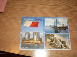 Views Of Dubai Flags - United Arab Emirates