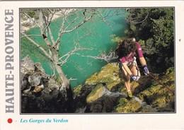 DESCENTE DANS LA CASCADE ST MAURIN GORGES DU VERDON (dil355) - Alpinisme