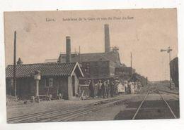 37778  -  Liers    Intérieur  De  La Gare  Et  Vue  Du  Pont Du  Fort - Juprelle