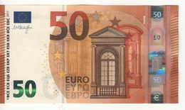 """50 EURO  """"RC""""  NEW DRAGHI   R 016 A1  RC0110800111. /  FDS - UNC - 50 Euro"""