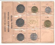 Italia - Serie Annuale In Confezione FDC 7 Monete - 1979 - 1946-… : Repubblica