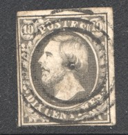 Luxembourg No 1  Oblitéré - 1852 Guillaume III
