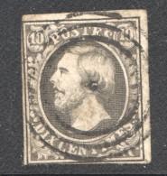 Luxembourg No 1  Oblitéré - 1852 Wilhelm III.