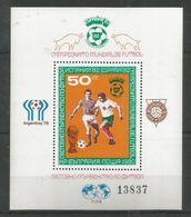 BULGARIA - MNH - Sport - Soccer - World Cup - Spain 1982 - World Cup