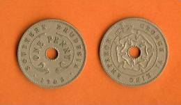 RHODESIA 1940-1942 1 Penny Copper Nickel KM8 - Rhodesia