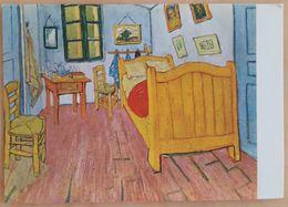 VINCENT VAN GOGH - De Slaapkamer In Arles / La Chambre à Coucher à Arles (1888) - Van Gogh Museum Amsterdam  Nv BA2 - Pittura & Quadri