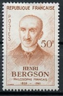 France - Frankreich 1959 Y&T N°1225 - Michel N°1267 * - 50f H Bergson - Unused Stamps