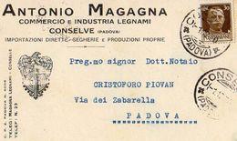 CONSELVE PADOVA, Magagna Antonio 1930 - Mercanti