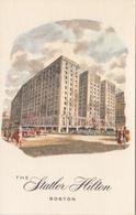 Boston Mass. - Statler Hilton Hotel - VG Condition - Unused - 2 Scans - Hotels & Restaurants