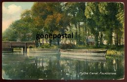 183 - ENGLAND Folkestone 1911 Hythe Canal - Folkestone