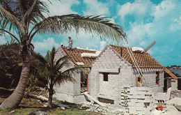 Bermuda Cottage From Limestone - By K.& K. Imports, Hamilton - House Construction - VG Condition - Unused - 2 Scans - Bermuda