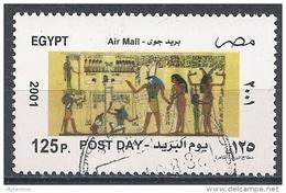 Egypte - 2001 -  Journée De La Poste - Motifs Muraux Pharaoniques - Y&T AM #293 -  Oblitéré - Egypt