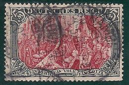 Allemagne: Yvert N° 80 (Fondation De L'Empire 1902-04) Oblitéré, Défectueux, Prix De Départ Réduit - Allemagne