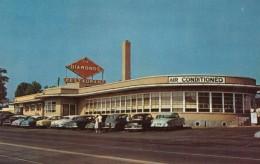 The Diamonds Reastaurant, Route 66 In Missouri, Roadside, C1950s Vintage Postcard - Route '66'